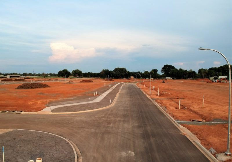 Roads now complete in stage 1
